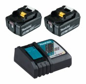 Makita 197570-9 Power Source-Kit 18V 5Ah 2x BL1850B + DC18RC